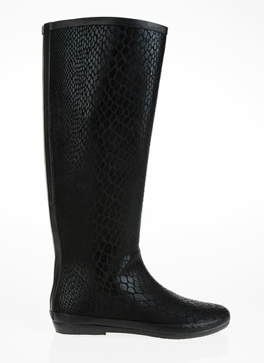 T-Box Çizme Siyah